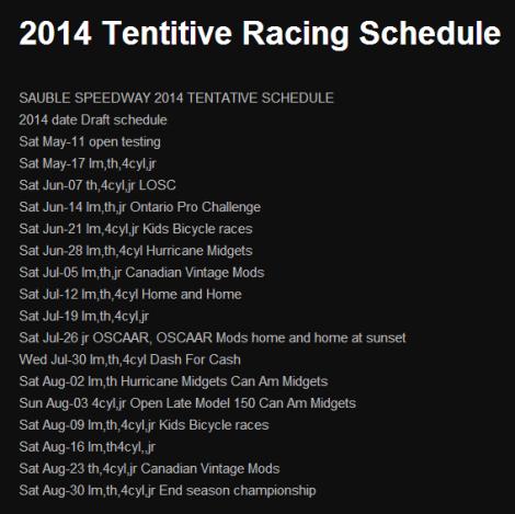2014-02-06 21_16_56-2014 Tentitive Racing Schedule _ Sauble Speedway